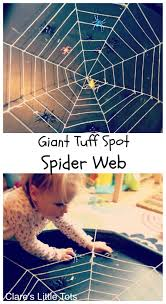 ... Create some handprint spiders; Try a tape resist spiders web. giant  spider web
