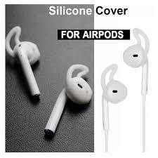 2 cái/cặp Miếng Đệm Tai Nghe cho AirPods Không Dây Bluetooth cho IPhone 7 7  Plus Tai Nghe Nhét Tai Silicone Mũ Tai Tai Nghe Ốp Lưng Nút Tai Nghe Bằng  eartips