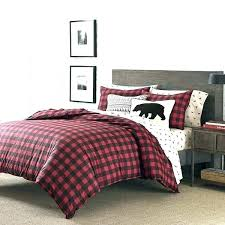 red duvet cover twin red plaid duvet covers black cover twin set cabin themed bedding buffalo red duvet cover