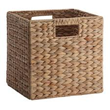 wooden crates wood slices michaels 13 inch fabric storage cubes