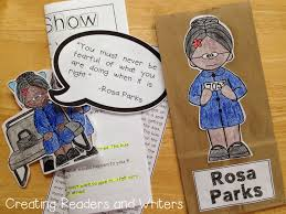 best rosa parks facts ideas facts about rosa paper bag biography rosa parks a project for grades 1 2