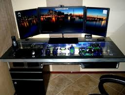 custom computer desk designs home design ideas