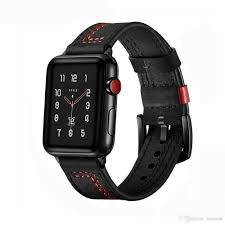 Designer 38mm Apple Watch Bands For Apple Watch Band 38mm 42mm Iwatch 4 Band 44mm 40mm Designer Apple Watch Strap Strap Bracelet Leather Strap Watch Leather Watch Strap From Onetant
