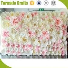 Paper Flower Suppliers 2017 Wholesale Amazing Artificial Pink White Paper Flower