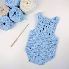Baby Romper Pattern Free Mesmerizing Free Baby Romper Pattern Crochet