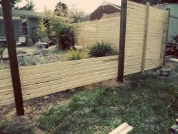 weekend diy modern fence willard and may outdoor living jpg 459x345 modern wooden gates