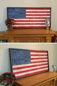 DIY Wooden American Flag
