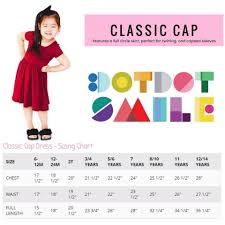 Dot Dot Smile Size Chart Dot Dot Smile Cap Dress Sizing And Styling Direct Sales