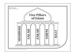 Five Pillars Of Islam Ichild
