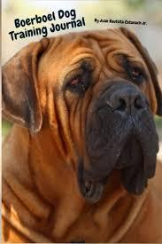 Boerboel Dog Training Journal Take Notes Set Goals Keep