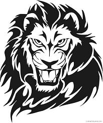 lion face black and white clipart. Unique Clipart Face Clipart Lion Clipartblack Com Animal Free Graphic Library In Lion Black And White Clipart I