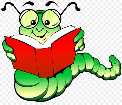 bookworm the edge of everything clip art cartoons