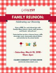 Catalyst Miami Family Reunion The Childrens Trust
