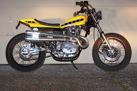 yamaha xs650 turned kenny roberts flat tracker street tracker for sale