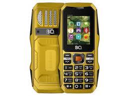 Купить <b>сотовый телефон BQ 1842</b> TANK MINI (2 SIM), желтый по ...