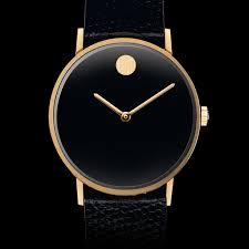movado museum classic men s gold pvd watch movado us