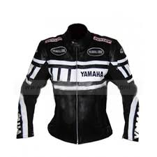 womens yamaha leather motorcycle jacket