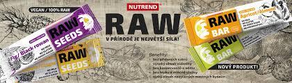 Výsledek obrázku pro Nutrend RAW SEEDS BAR 50 g