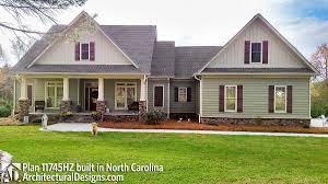 Plan 11745HZ Classic Country Style Home Plan  Bonus Rooms Classic Country Style Homes