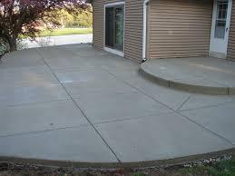 patio concrete slabs. Exellent Slabs Concrete Patios Milwaukee By JBS Construction Throughout Patio Slabs F