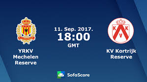 YRKV Mechelen Reserve KV Kortrijk Reserve live score, video stream and H2H  results - SofaScore