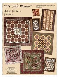 New Civil War Patterns and Jo's Little Women Club & Club 15 Poster. 778KB Adamdwight.com