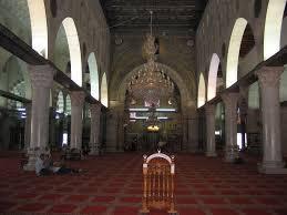 Jerusalem - القدس الشريف : منظر من داخل المسجد الاقصى المبارك   Beautiful  mosques, Mosque, Jerusalem