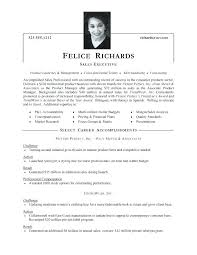 Resume Samples For Sales Executive Sales Resume Samples Senior Sales ...