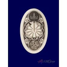 the round table arthurian legends porcelain necklace at mystic convergence magical supplies wiccan supplies