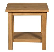oak side table. Thunderhead Oak Side Table B