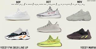 Loaded Season Ahead Adidas Yeezy Fall 2018 Lineup Aio Bot