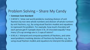 problem solving share my candy
