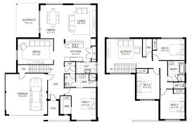 sample floor plan for house modern references ideas simple plans 2 story