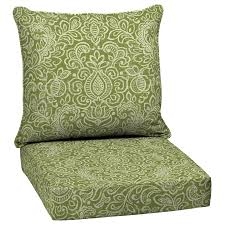 Shop Garden Treasures 2 Piece Deep Seat Patio Chair Cushion at