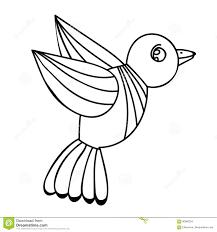 Uccello Per Ladulto O Libro Da Colorare E Pagine Del Bambino