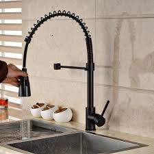 antique bronze kitchen faucet
