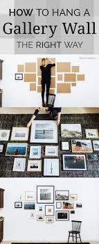 How to Hang a Gallery Wall the Right Way We're always looking for cheap and  easy DIY wall decor ideas. A DIY gallery wall is the perfect way to display  your ...