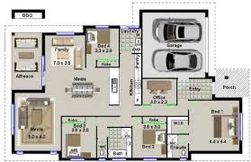 4 Bedroom Home Design · 4 Bedroom