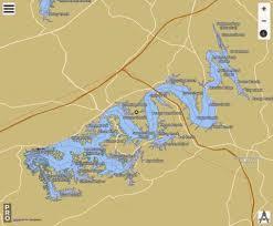 Douglas Lake Fishing Map Us_dl_tn_01282739 Nautical
