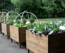 wooden garden crates for indoor