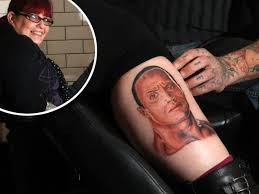 Blyth Womans Tattoo Of Wrestling Star The Rock Goes Viral On Social