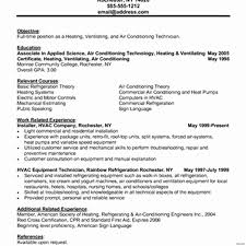 Hvac Cover Letters Samples Create Air Conditioning Installer Cover