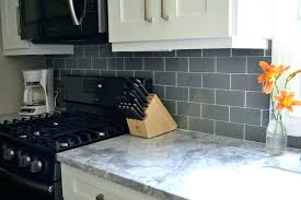 glass subway tile backsplash gray pebble tiles rocky point and mosaic blue glass subway tile backsplash