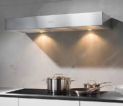 Miele DA1180 30 Built-Under Hood in Stainless Steel. ;