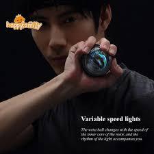 COD Xiaomi <b>YunMai</b> LED <b>Wrist</b> Power <b>Ball</b> Carpal <b>Arm</b> Strengthener ...