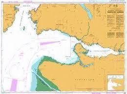 Burrard Inlet Depth Chart