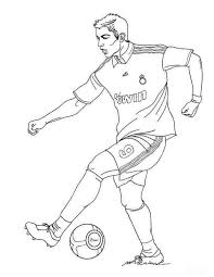 soccer ball coloring page with original resolution here