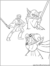 Star Wars Coloring Page Png 800