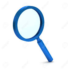 magnifying glass icon blue. Exellent Magnifying 3d Blue Magnifying Glass Icon On A White Background Stock Photo  23124953 To Magnifying Glass Icon Blue G