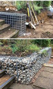 Small Picture 1093 best Gabion Ideas images on Pinterest Gabion wall Stone